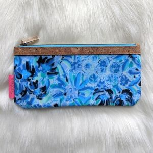 NWT Lilly Pulitzer GWP Pencil Pouch in Iris Blue